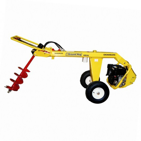 Post Hole Auger 1-Man Towable | RentX Tools and Equipment